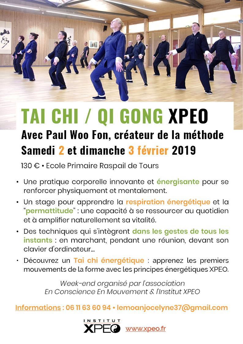 Tai chi - Qi Gong XPEO (Tours)