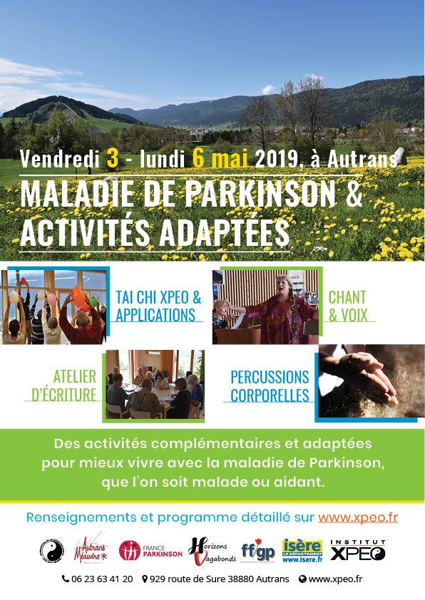 Maladie de Parkinson et activités adaptées